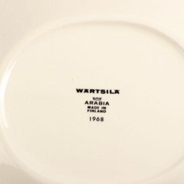 Arabia Paratiisi lautanen, erikoiserä 1968, suunnittelija Birger Kaipiainen, erikoiserä 1968, matala, serikuva kuva 3