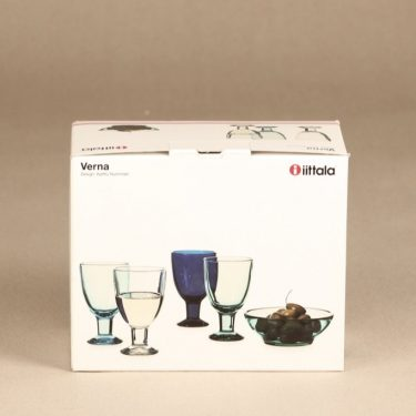 Iittala Verna lasit, 22 cl, 2 kpl, suunnittelija Kerttu Nurminen, 22 cl kuva 2