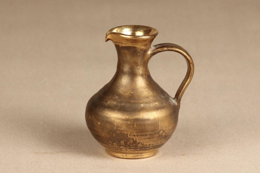 Savitorppa jug, small, designer Erkki Stenius, gilted, signed