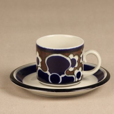Arabia Saara coffee cup, special decoration, Anja Jaatinen-Winquist