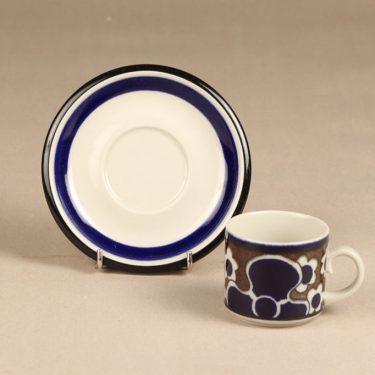 Arabia Saara kahvikuppi, erikoiskoriste, suunnittelija Anja Jaatinen-Winquist, erikoiskoriste, retro kuva 2