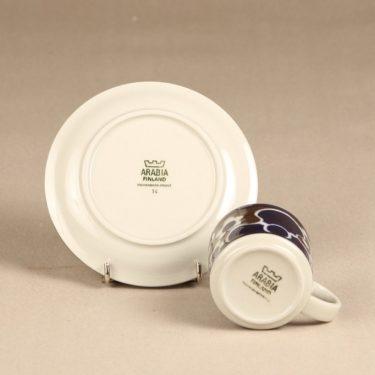 Arabia Saara kahvikuppi, erikoiskoriste, suunnittelija Anja Jaatinen-Winquist, erikoiskoriste, retro kuva 3