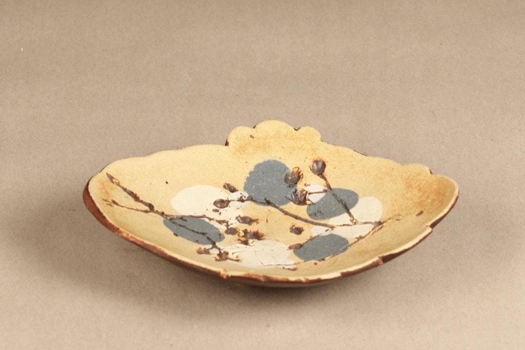 Arabia objet d'art, designer Francesca Lindh, hand-painted, hand-made, signed