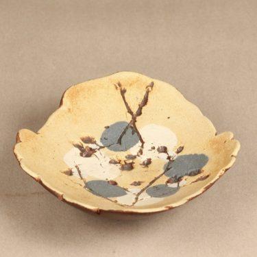 Arabia taide-esine, suunnittelija Francesca Lindh, käsinmaalattu, käsin muotoiltu, signeerattu kuva 2