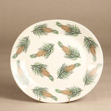 Arabia BK platter, ordered by Enso-Gutzeit Oy, designer Birger Kaipiainen, silk screening