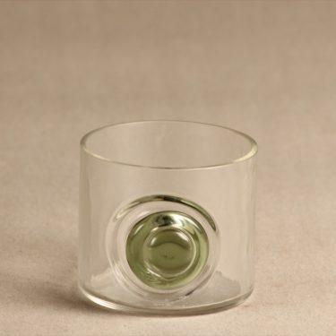 Riihimäen lasi Tippa lasi, kirkas, suunnittelija Helena Tynell,