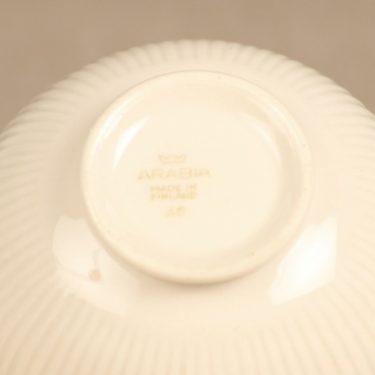 Arabia Sointu sugar bowl and creamer, white, Kaj Franck, 2