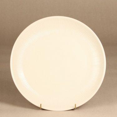 Arabia Sointu serving plate, beige, designer Kaj Franck