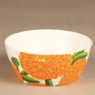 Iittala Primavera dessert bowl, orange, Maija Isola