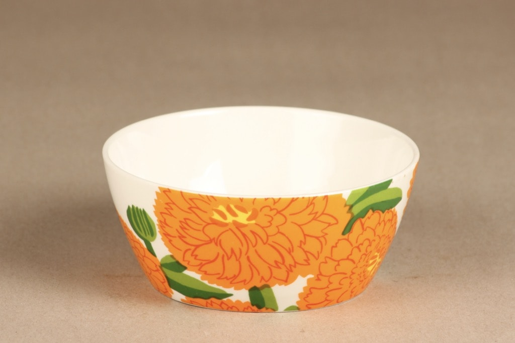 Iittala Primavera dessert bowl, orange, Maija Isola