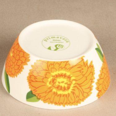 Iittala Primavera dessert bowl, orange, Maija Isola 2