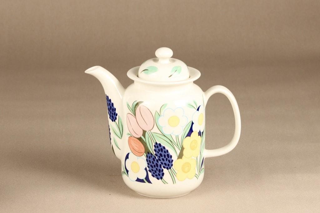 Arabia Arctica Poetica teekannu, monivärinen, suunnittelija Dorrit von Fieandt,