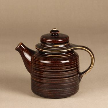 Arabia Mahonki tea pot, 1,3 l, brown glazing