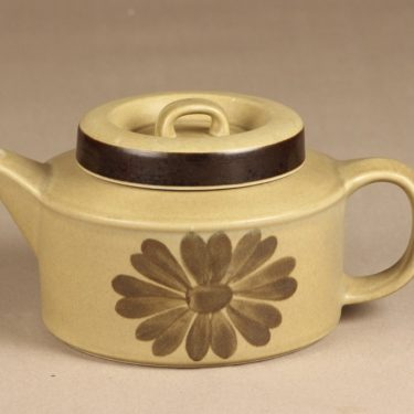 Arabia Tunturi teekaadin, 1,35 l, suunnittelija Olga Osol, 1,35 l, käsinmaalattu