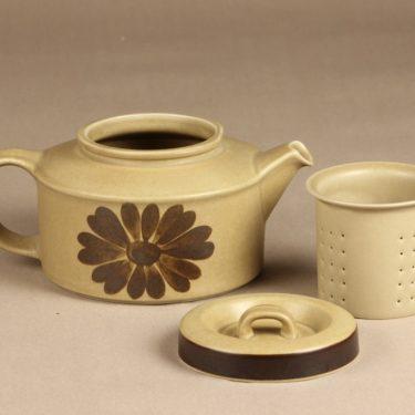 Arabia Tunturi teekaadin, 1,35 l, suunnittelija Olga Osol, 1,35 l, käsinmaalattu kuva 2