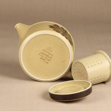 Arabia Tunturi teekaadin, 1,35 l, suunnittelija Olga Osol, 1,35 l, käsinmaalattu kuva 3