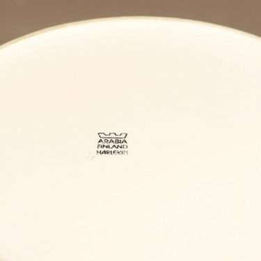 Arabia Harlekin teekannu, valkoinen, suunnittelija Inkeri Leivo,  kuva 3