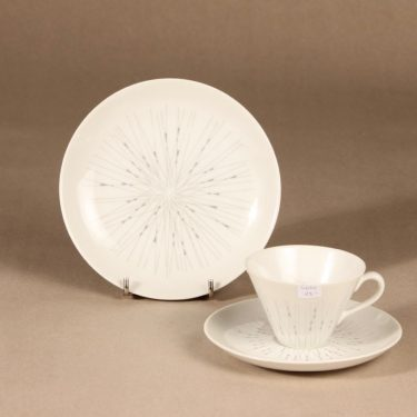 Arabia Stella kahvikuppi ja lautaset