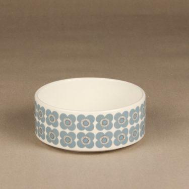 Arabia Veera kulho, siniharmaa, suunnittelija Esteri Tomula, retro