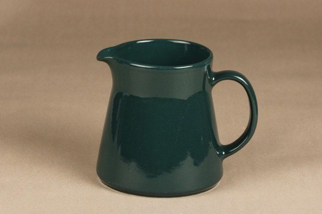 Arabia Kilta kaadin, 1 l, suunnittelija Kaj Franck, 1 l, vihreä lasite