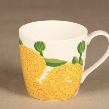 Iittala Primavera mug, 3,5 dl, yellow, designer Maija Isola