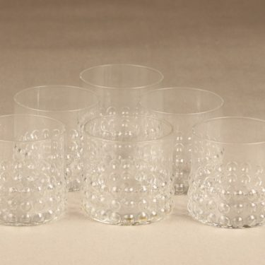 Riihimäen Lasi Grappo glasses, 15 cl, 6 pcs, Nanny Still
