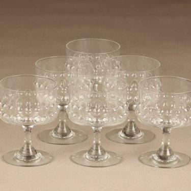 Riihimäen Lasi Grappo cocktail glasses, 14 cl, 6 pcs, Nanny Still