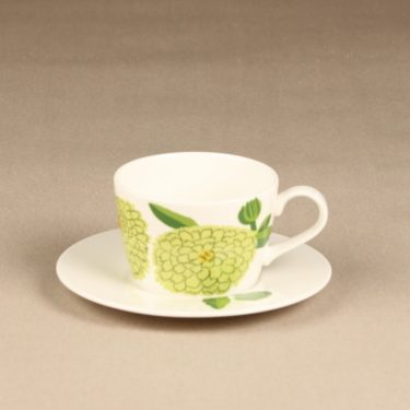 Iittala Primavera kahvikuppi, serikuva, suunnittelija Maija Isola, serikuva