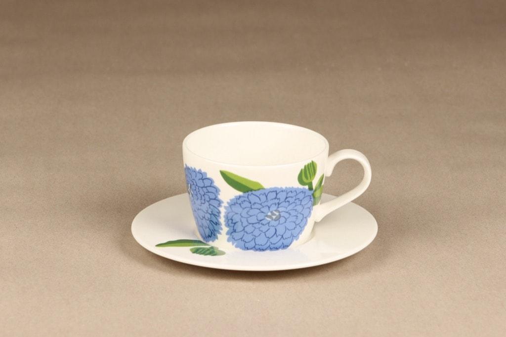 Iittala Primavera coffee cup, blue, Maija Isola