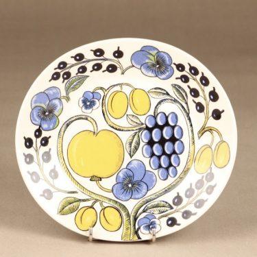 Arabia Paratiisi lautanen, soikea, suunnittelija Birger Kaipiainen, soikea