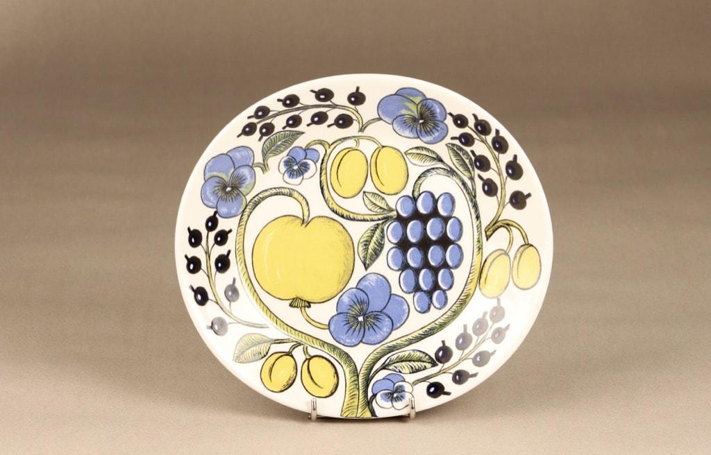 Arabia Paratiisi plate, oval, designer Birger Kaipiainen