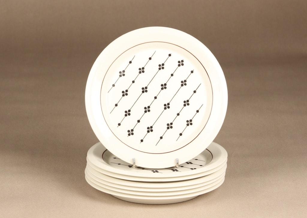 Arabia Kartano lautanen, pieni, suunnittelija Esteri Tomula, pieni