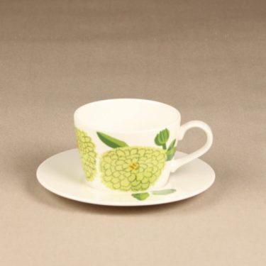 Iittala Primavera kahvikuppi, omenanvihreä, suunnittelija Maija Isola, serikuva