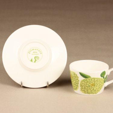 Iittala Primavera kahvikuppi, omenanvihreä, suunnittelija Maija Isola, serikuva kuva 2