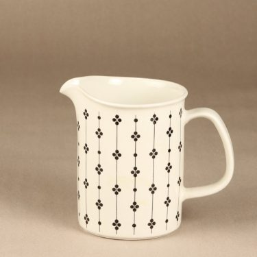 Arabia Kartano jug, 1 l, designer Esteri Tomula, printed and painted