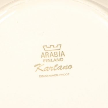 Arabia Kartano soup plate, Esteri Tomula, 2