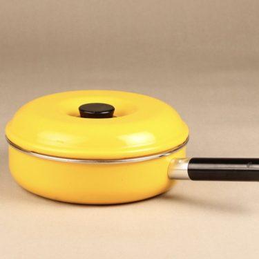 Finel Rondo kasari, keltainen, suunnittelija Leif Eriksson,
