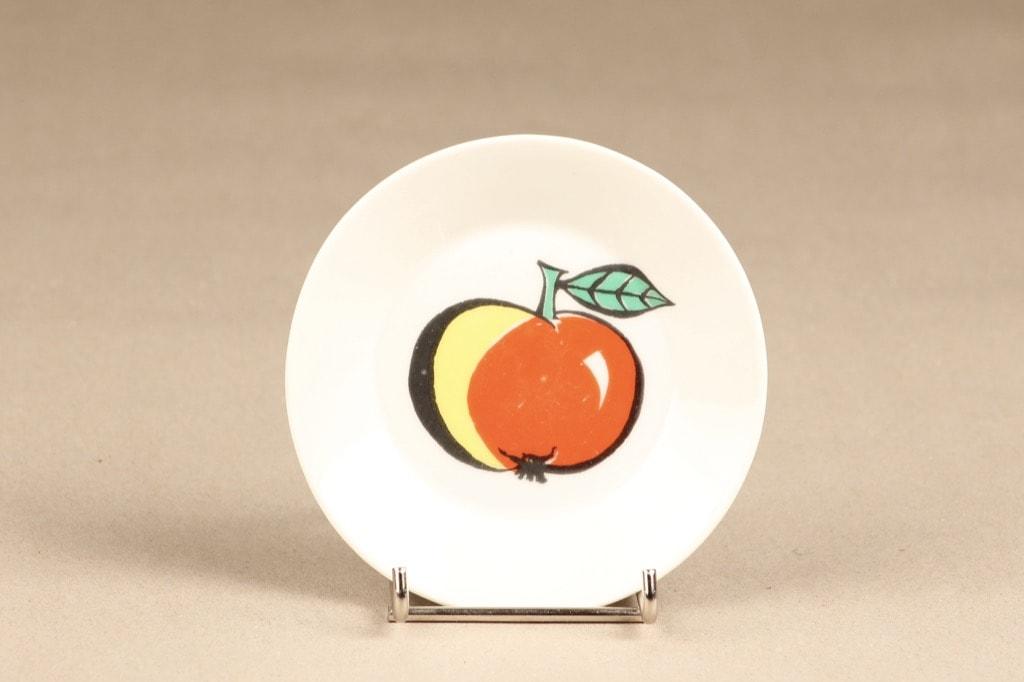 Arabia Tutti Frutti plate Apple designer Ulla Procope