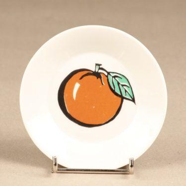 Arabia Tutti Frutti lautanen, omena, suunnittelija Ulla Procope, omena