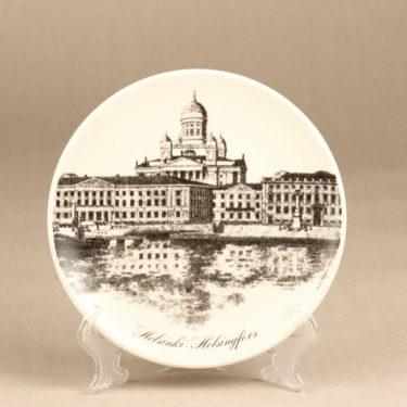 Arabia Helsinki-lautanen decorative plate, designer Veikko Roininen, silk screening