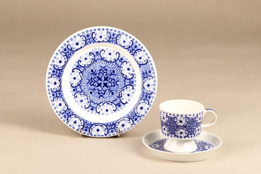 Arabia Ali coffee cup, blue, Raija Uosikkinen