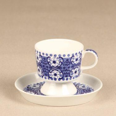 Arabia Ali coffee cup, blue, Raija Uosikkinen, 2