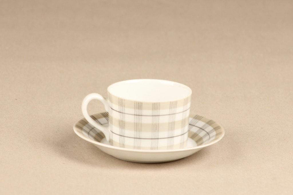 Arabia Verkko coffee cup, gray, Esteri Tomula