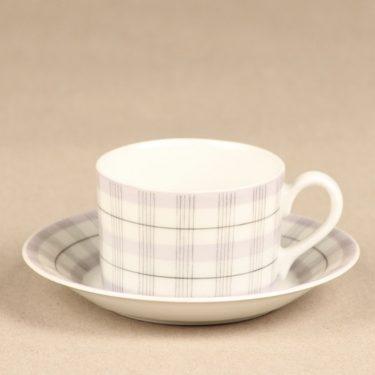 Arabia Verkko coffee cup, lilac, Esteri Tomula