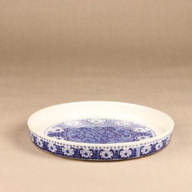 Arabia Ali piirakkavuoka, sininen, suunnittelija Raija Uosikkinen, kuparipainokoriste kuva 2