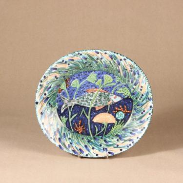 Arabia Pro Arte Hubertus lautanen, suunnittelija Dorrit von Fieandt, serikuva, käsinmaalattu