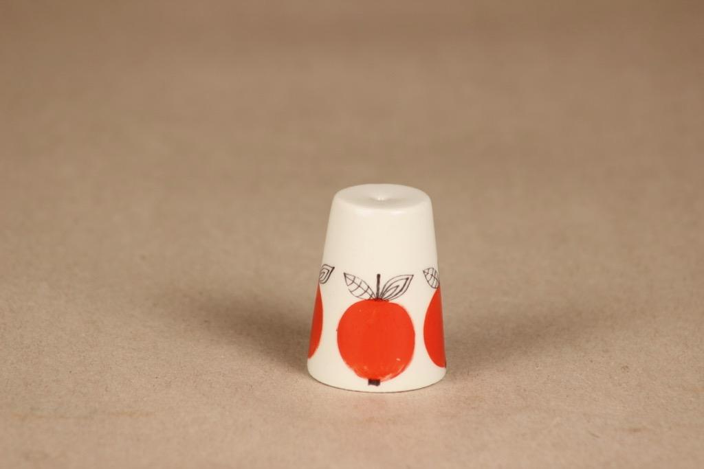 Arabia marja shaker, hand-painted, designer Esteri Tomula