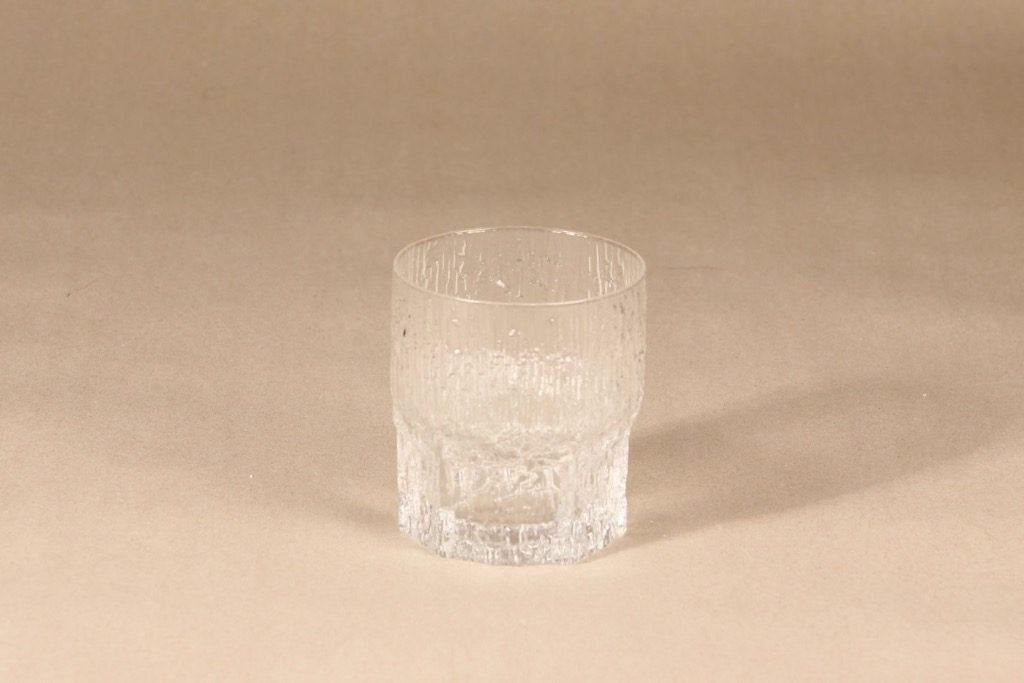 Iittala Aslak whiskey glass, clear, Tapio Wirkkala