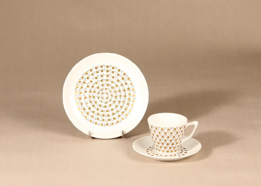 Arabia Mekka kahvikuppi, serikuva, suunnittelija Esteri Tomula,