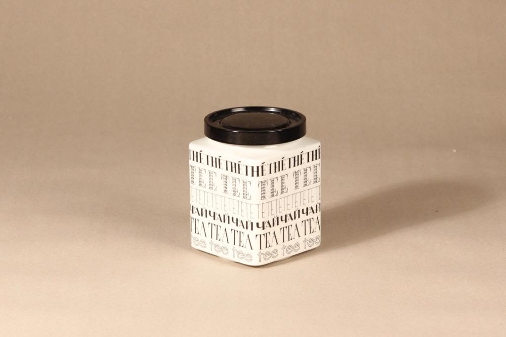Arabia tea jar, designer Esteri Tomula